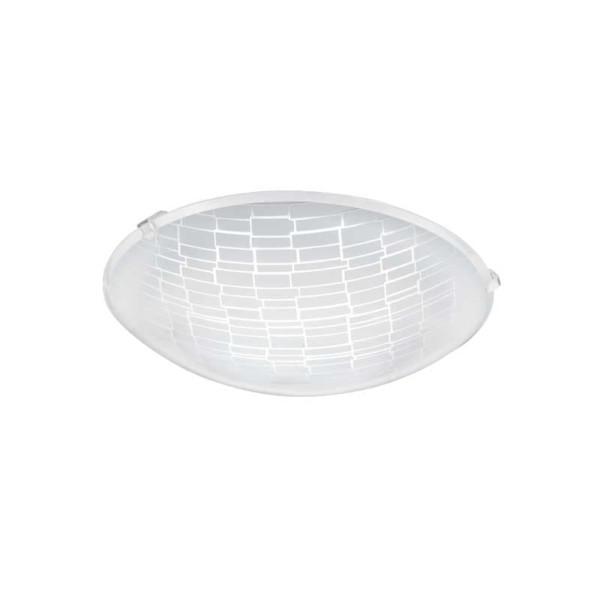 LED-ΦΩΤΙΣΤΙΚΟ ΟΡΟΦΗΣ Ø245 WS/ΔΙΑΦΑΝΟ MALVA 1 - 96084 - EGLO
