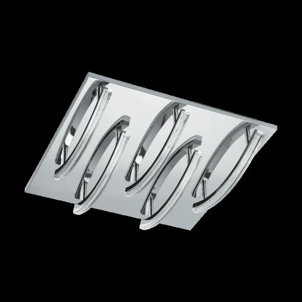 LED - ΦΩΤΙΣΤΙΚΟ ΟΡΟΦΗΣ 300 X 300 ΧΡΩΜΕ / TRANSP. PERTINI - 96095 - EGLO