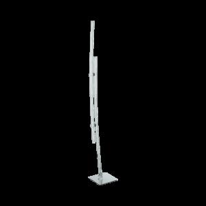 LED-ΟΡΘΟΣΤΑΤΗΣ ΧΡΩΜΕ / ΔΙΑΦΑΝΟ PERTINI - 96099 - EGLO
