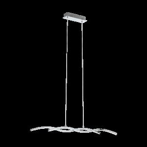 LED - ΚΡΕΜΑΣΤΟ ΦΩΤΙΣΤΙΚΟ L-870 ΧΡΩΜΕ / ΛΕΥΚΟ LASANA 2 - 96103 - EGLO