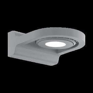 LED-ΦΩΤΙΣΤΙΚΟ ΤΟΙΧΟΥ ΕΞ.ΧΩΡΟΥ 1 ΑΣΗΜΙ ROΑΛES - 96281 - EGLO