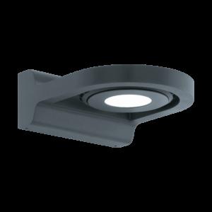 LED-ΦΩΤΙΣΤΙΚΟ ΤΟΙΧΟΥ ΕΞ.ΧΩΡΟΥ 1 ΑΝΘΡΑΚΙ ROΑΛES - 96282 - EGLO