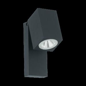 LED-ΦΩΤΙΣΤΙΚΟ ΤΟΙΧΟΥ ΕΞ.ΧΩΡΟΥ ΑΝΘΡΑΚΙ SAKEDA - 96286 - EGLO