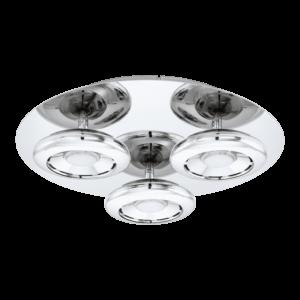 LED - ΦΩΤΙΣΤΙΚΟ ΟΡΟΦΗΣ / 3 Ø350 ΧΡΩΜΕ TARUGO 1 - 96506 - EGLO