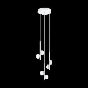 LED - ΚΡΕΜΑΣΤΟ ΦΩΤΙΣΤΙΚΟ / 6 ΛΕΥΚΟ / ΧΡΩΜΕ / SAT. OLINDRA - 96931 - EGLO