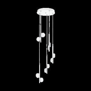 LED-ΚΡΕΜΑΣΤΟ ΦΩΤΙΣΤΙΚΟ / 10 ΛΕΥΚΟ / ΧΡΩΜΕ  /SAT. OLINDRA - 96932 - EGLO