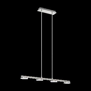 LED-ΚΡΕΜΑΣΤΟ ΦΩΤΙΣΤΙΚΟ / 4 ΝΙΚΕΛ-ΜΑΤ/SAT.LANIENA - 97084 - EGLO