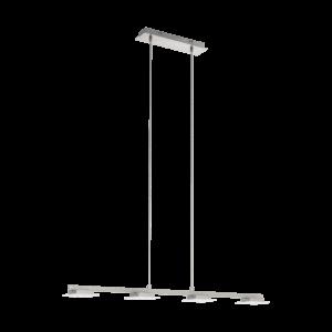 LED-ΚΡΕΜΑΣΤΟ ΦΩΤΙΣΤΙΚΟ / 4 ΝΙΚΕΛ-ΜΑΤ / SAT. LANIENA - 97085 - EGLO
