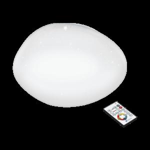 LED - ΦΩΤΙΣΤΙΚΟ ΟΡΟΦΗΣ Ø450 ΛΕΥΚΟ M. ΚΡΥΣΤΑΛΛΟ.SILERAS - 97577 - EGLO