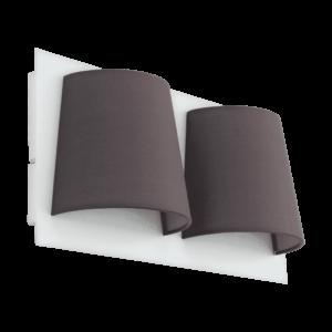 LED-ΦΩΤΙΣΤΙΚΟ ΤΟΙΧΟΥ/2 ΛΕΥΚΟ/ΓΚΡΙ SERRAVALLE - 97625 - EGLO