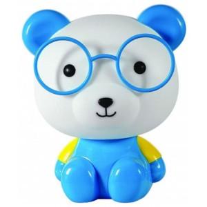 Παιδικό Πορτατίφ Αρκουδάκι Πλαστικό Μπλε CL-4003 C