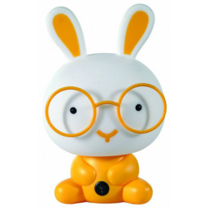 6810109-374-Παιδικό Πορτατίφ Λαγός Πλαστικό Κίτρινο CL-4002 YL