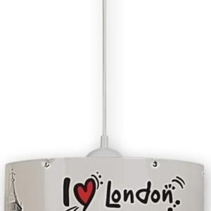 Φωτιστικό Κρεμαστό London Πλαστικό TZ-1304