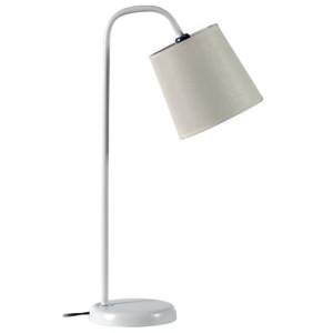 Φωτιστικό Γραφείου Πορτατίφ Μεταλλικό Λευκό Καπέλλο Λευκό CS 8028 WH Arlight