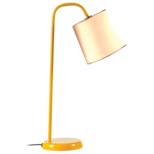 Φωτιστικό Γραφείου Πορτατίφ Μεταλλικό Κίτρινο Καπέλλο Κίτρινο CS 8028 YL Arlight