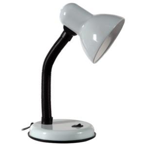 Φωτιστικό Γραφείου Σπιράλ Μέταλλο με Πλαστικό Λευκό HD-2028 ARlight