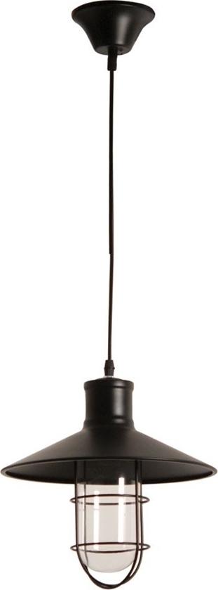 Φωτιστικό 1Φ Μεταλλικό Μαύρο με Γυαλί CL-6083-2 ARlight