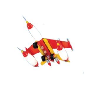Παιδικό Φωτιστικό Κρεμαστό 1Φ Μεταλλικό Κόκκινο Αεροπλάνο CL-4312 C ARlight