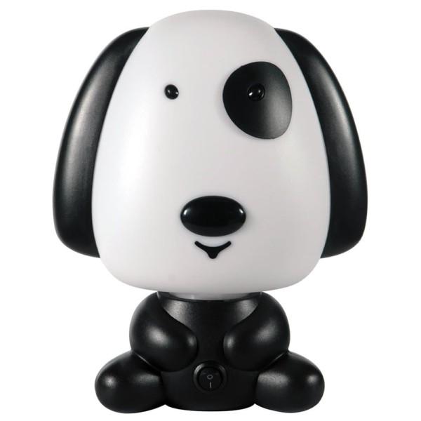 Παιδικό Πορτατίφ Σκύλος Πλαστικός Ασπρόμαυρος CL-4004 X ARlight
