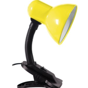 Φωτιστικό Γραφείου Πορτατίφ Σπαστό Με Μανταλάκι Κίτρινο HD 108 ARlight