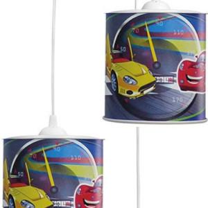 Παιδικό Φωτιστικό Kid Pendel BOY-B 3Φ Πλαστικό 36-0004