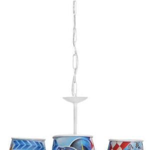Παιδικό Φωτιστικό Car 3Φ Πλαστικό-Μεταλλικό 36-0013