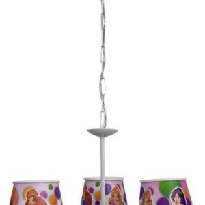 Παιδικό Φωτιστικό Poya 3Φ Πλαστικό-Μεταλλικό 36-0016