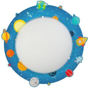Planets παιδικό φωτιστικό πλαφονιέρα ή απλίκα ango 41346