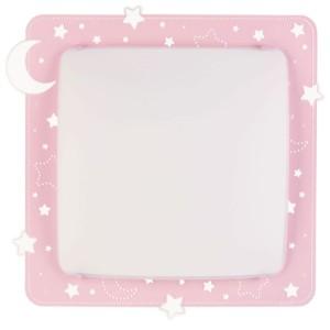 Pink Moon παιδική μεγάλη πλαφονιέρα ή απλίκα ango 43236 S