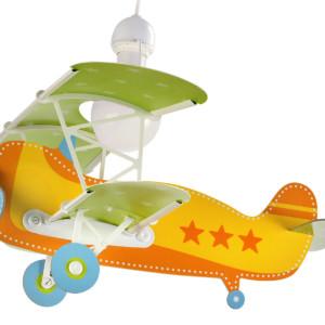 Baby Planes αεροπλάνο φωτιστικό οροφής πορτοκαλί 54012