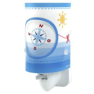 Πειρατής παιδικό φωτιστικό νύκτας πρίζας LED ango 60555