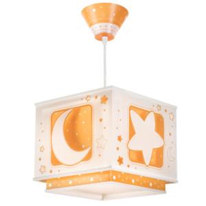 Orange Moon παιδικό φωτιστικό οροφής φωσφορίζον ango 63232 J