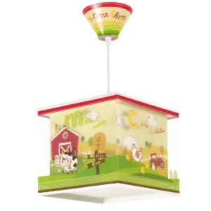 My Little Farm παιδικό φωτιστικό οροφής ango 64402