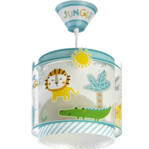 My Little Jungle παιδικό κρεμαστό φωτιστικό ango 76112