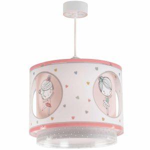 Ango 70912 - Sweet Dance κρεμαστό παιδικό φωτιστικό οροφής διπλού τοιχώματος