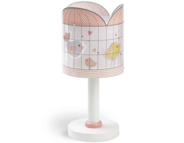 Ango 71281 - Little Birds παιδικό φωτιστικό κομοδίνου με διπλό τοίχωμα
