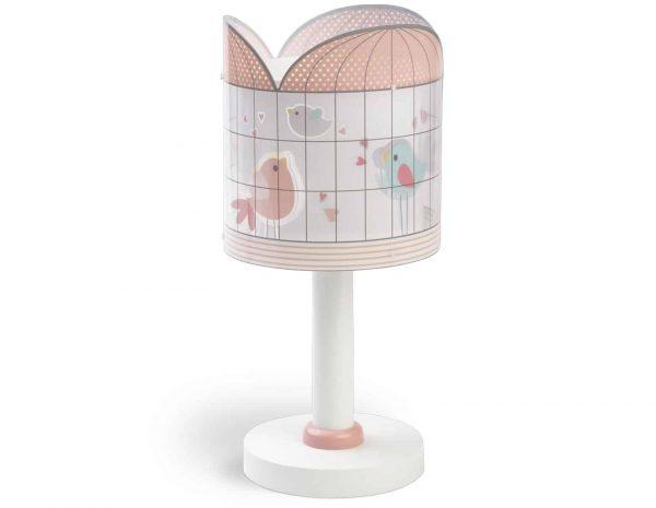 Κλασικής σχεδίασης παιδικό φωτιστικό κομοδίνου με διπλό τοίχωμα. Είναι σχεδιασμένο για παιδιά και κάθε παιδικό δωμάτιο πλημμυρίζοντάς το από μαγεία και διασκεδαστικό χαρακτήρα και χρώμα. Παρέχει ομοιόμορφο και άπλετο φωτισμό δημιουργώντας περιβάλλον που ενθαρρύνει τα παιδιά να επιδοθούν σε ότι τους αρέσει περισσότερο – διασκέδαση και δημιουργικότητα! Απόλυτα ασφαλές ώστε να μπορούν να μελετήσουν