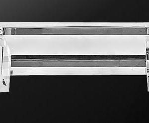 ΦΩΤΙΣΤΙΚΟ ΜΠΑΝΙΟΥ 4Φ 6037ΒΑ CHROME CRYSTAL GLASS