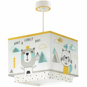 Ango 73242 - Hello Little κρεμαστό βρεφικό φωτιστικό οροφής διπλού τοιχώματος