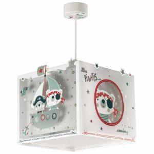 Ango 74552 - The Pirates κρεμαστό παιδικό φωτιστικό οροφής διπλού τοιχώματος φωσφορίζον