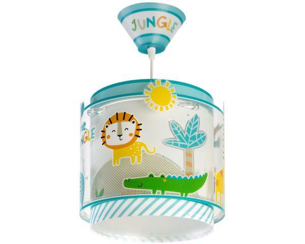 Ango 76112 - My Little Jungle κρεμαστό παιδικό φωτιστικό οροφής διπλού τοιχώματος