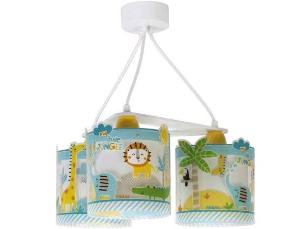 Ango 76114 - My Little Jungle κρεμαστό τρίφωτο φωτιστικό οροφής