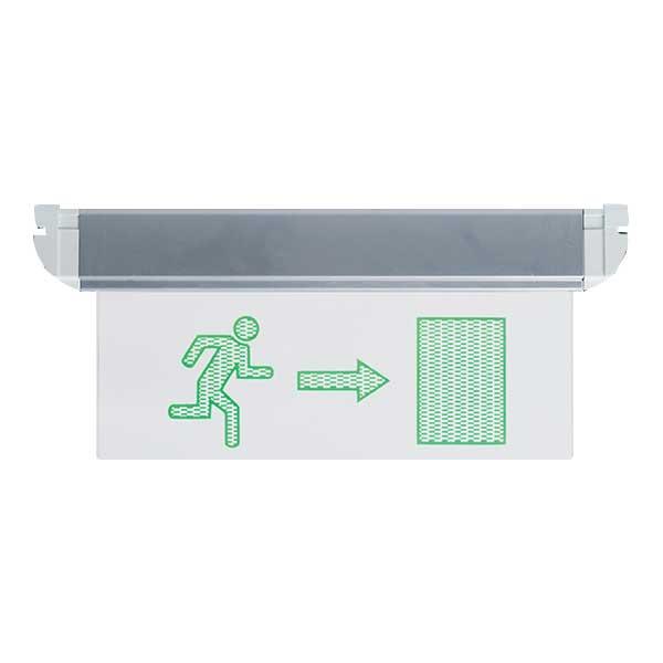 Φωτιστικό Ασφαλείας LED Κρεμαστό Οριζόντιο Τόξο 3W 9АТ3114