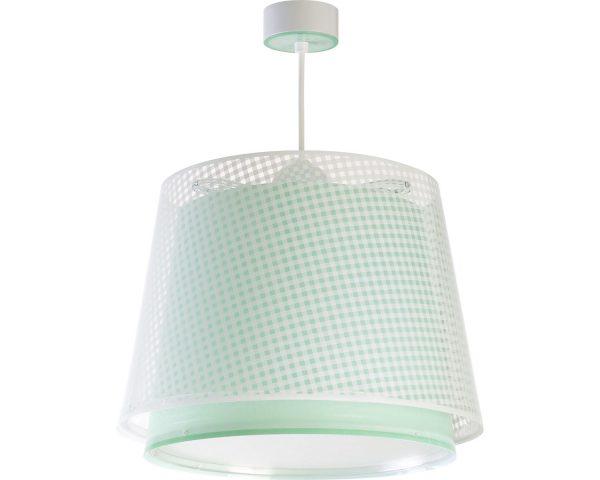 Ango 80222 H - Vichy Green κρεμαστό παιδικό φωτιστικό οροφής διπλού τοιχώματος