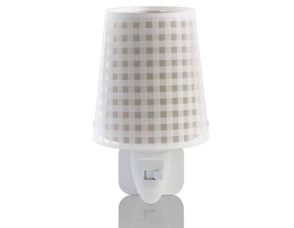Ango 80225 B - Vichy Beige φωτιστικό νύκτας πρίζας LED