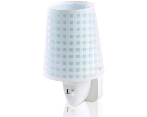 Ango 80225 T - Vichy Blue φωτιστικό νύκτας πρίζας LED