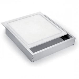 Πλαίσιο Αλουμινίου-Επίτοιχης Τοποθέτησης Για LED Panel 595X595mm Elmark