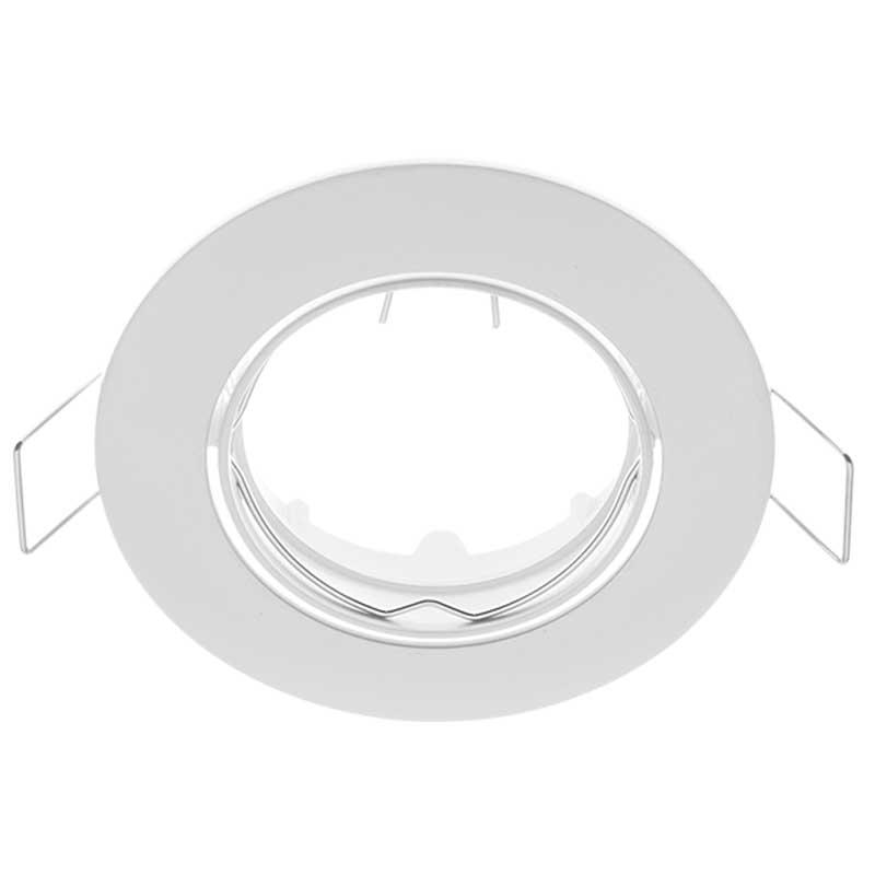 Σποτ Χωνευτό Σταθερό Λευκό Ø50mm