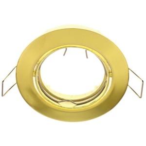 Σποτ Χωνευτό Κινητό Χρυσό Ø50mm