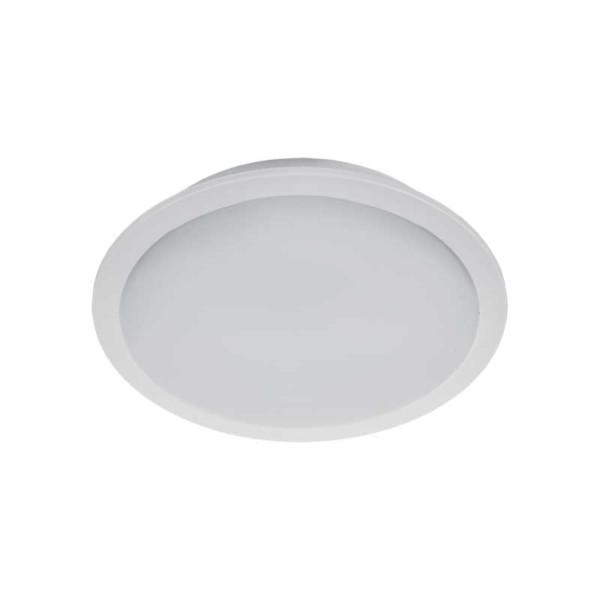 Φωτιστικό Μπάνιου LED Στρογγυλό Χωνευτό 5W 4000K IP65 Ø90mm